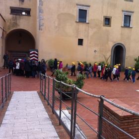 Bambini al Forte Sangallo