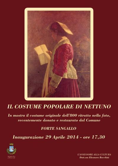 """Mostra del """"Costume Tradizionale"""" di Nettuno"""