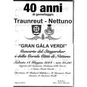 40 anni di gemellaggio Traunreut e Nettuno
