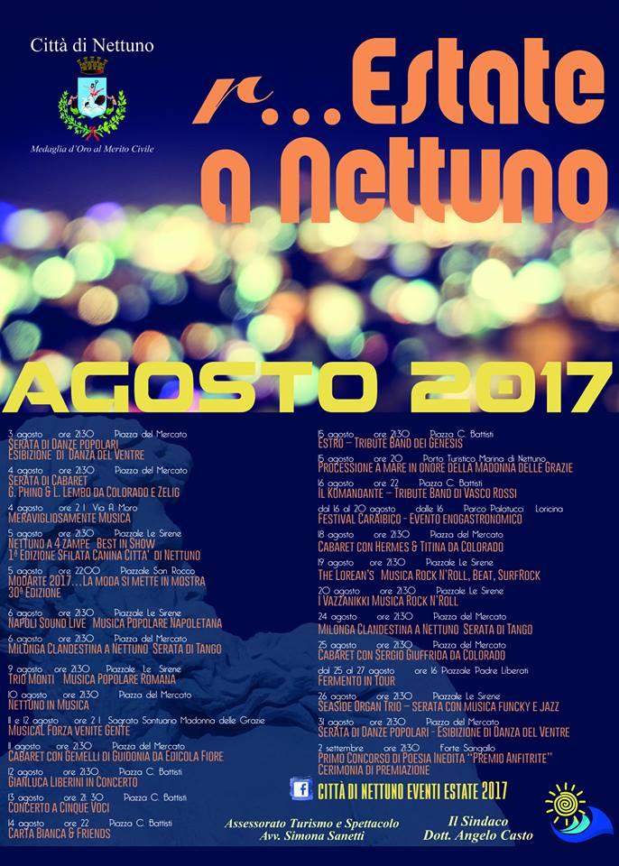 programma agosto 2017