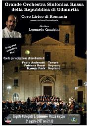 Locandina concerto Orchestra Sinfonica Russa_31Ago