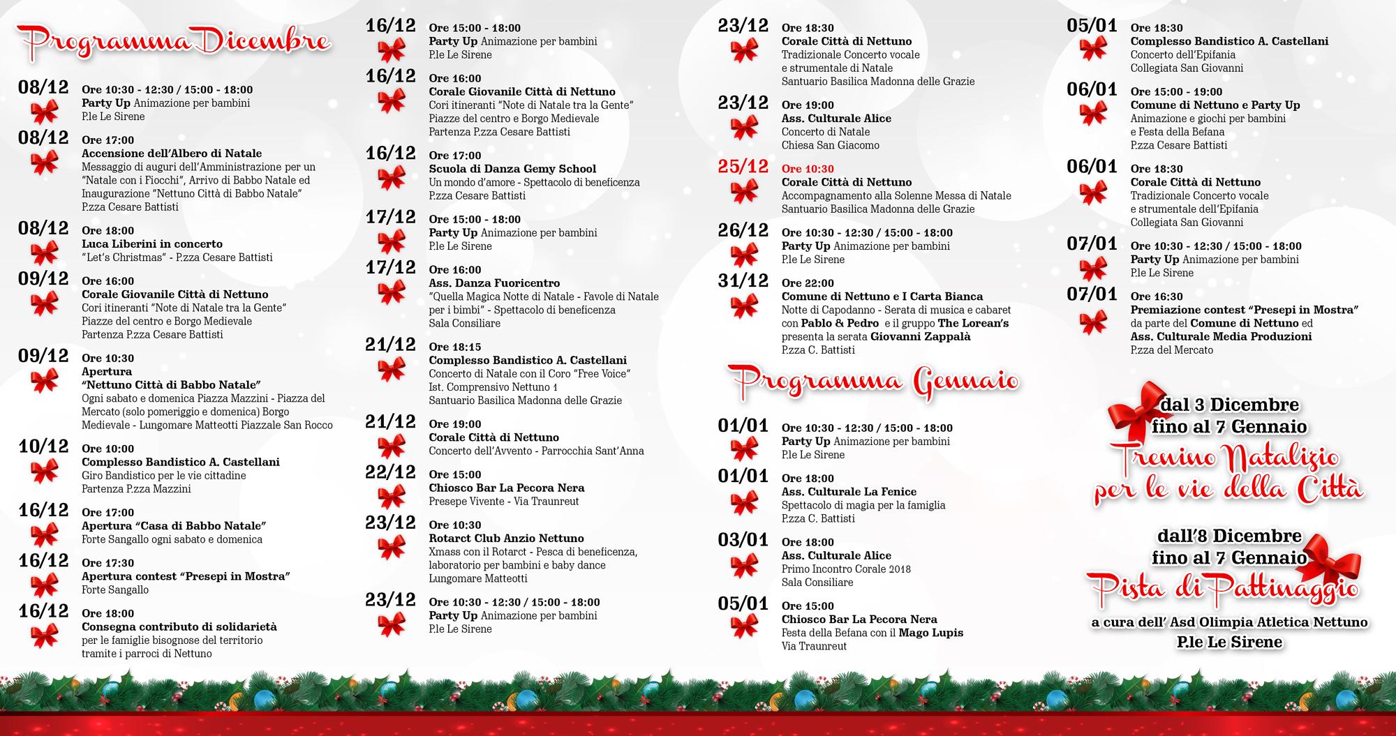 Brochure interno Natale Con i Fiocchi