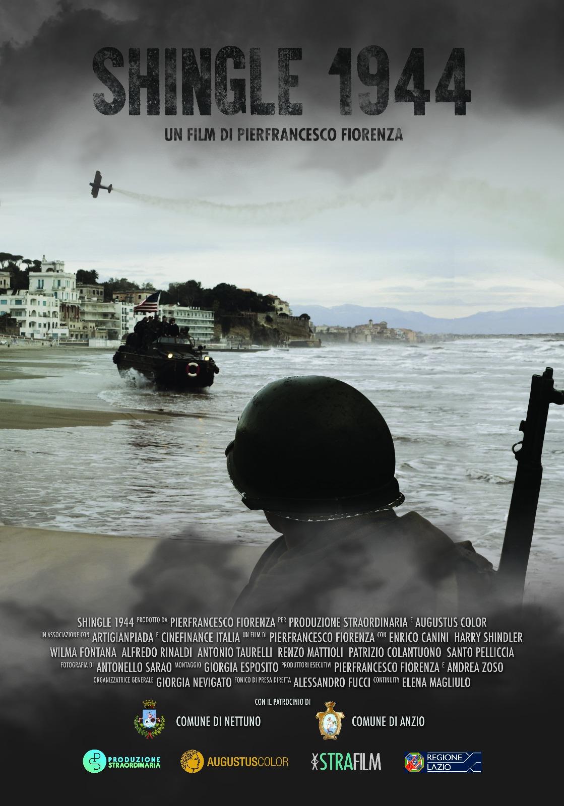 Locandina film SHINGLE 1944 di Pierfrancesco Fiorenza