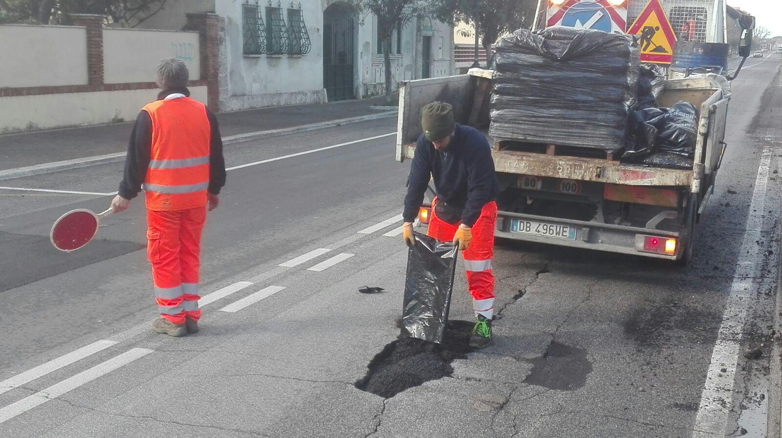 Lavori strade Marzo 2018