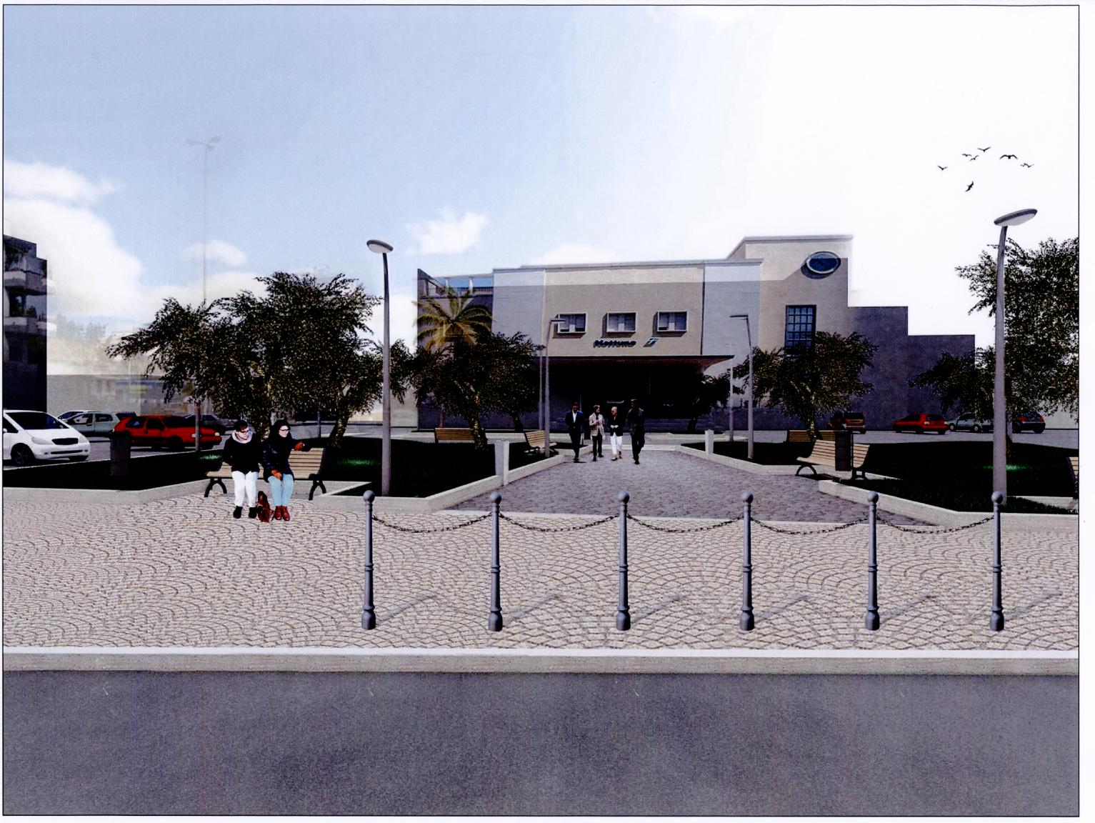Nuovo piazzale Stazione FS 2018
