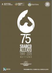 75° ANNIVERSARIO SBARCO ALLEATO 1944-2019 - NETTUN