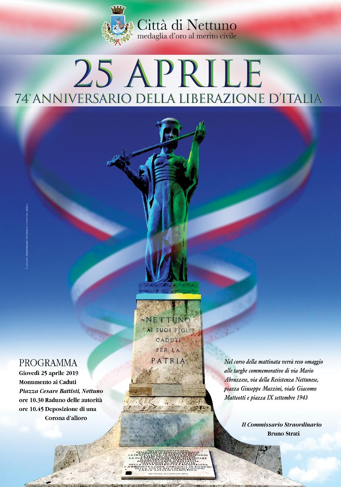 74° ANNIVERSARIO FESTA DELLA LIBERAZIONE