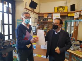 Certificati in Tabaccheria Assessore Mauro e Sinda