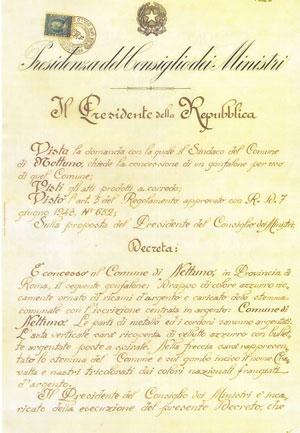 decreto gonfalone 1