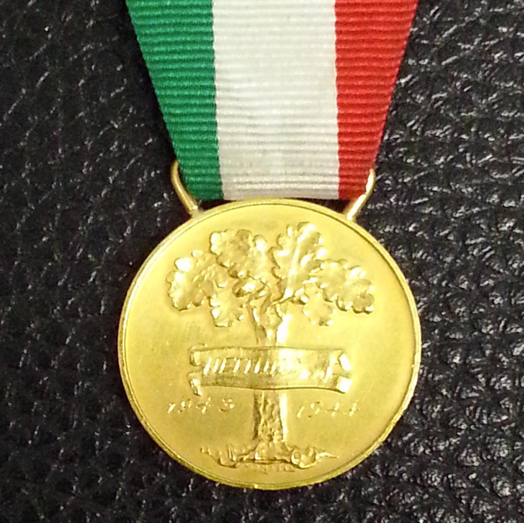 medaglia d'oro - fronte