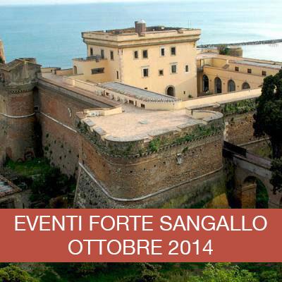 Programma di iniziative Ottobre 2014 al Forte Sangallo