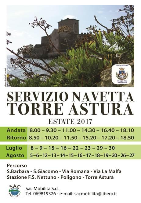 SERVIZIO NAVETTA TORRE ASTURA