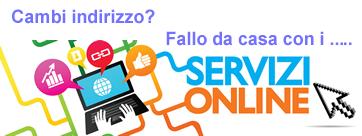 servizi online - Servizi Demografici
