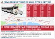 Trenino turistico di Natale: in partenza tutti i giorni